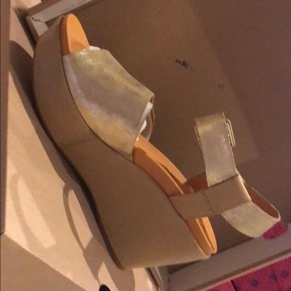 274004b9582 Kork-ease gold platform sandals